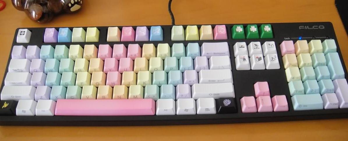 Các kiểu chơi keycap bàn phím cơ